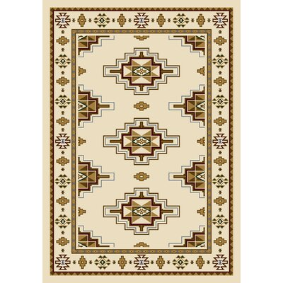 Signature Prairie Star Opal Area Rug Rug Size: Rectangle 54 x 78