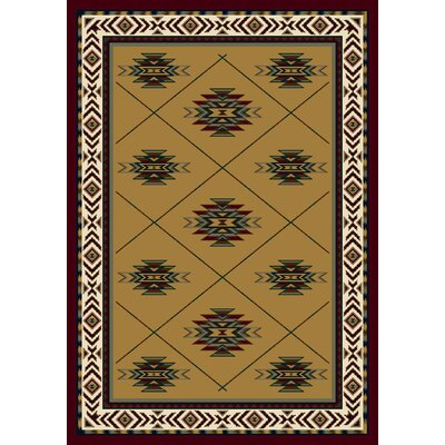 Signature Shiba Garnet Area Rug Rug Size: Rectangle 109 x 132