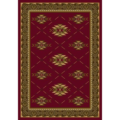 Signature Shiba Brick Area Rug Rug Size: Rectangle 109 x 132