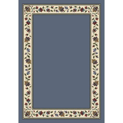 Signature Symphony Lapis Solid Area Rug Rug Size: Rectangle 28 x 310