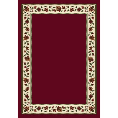 Signature Symphony Brick Solid Area Rug Rug Size: Rectangle 78 x 109