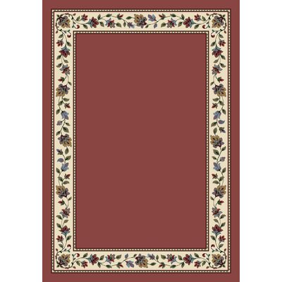 Signature Symphony Rose Quartz Solid Area Rug Rug Size: Rectangle 54 x 78