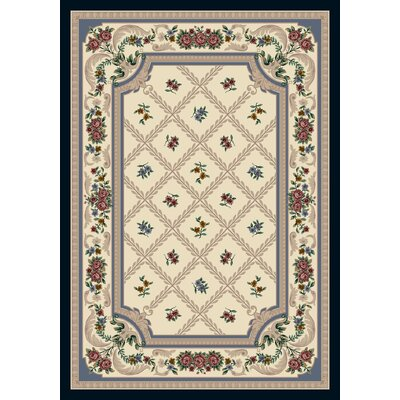 Signature Vanderbilt Opal Lapis Area Rug Rug Size: Rectangle 109 x 132