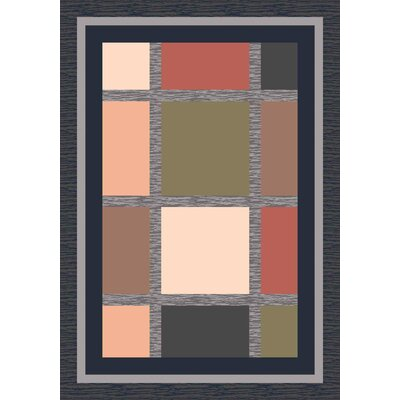 Pastiche Ababa Ebony Rug Rug Size: Rectangle 109 x 132