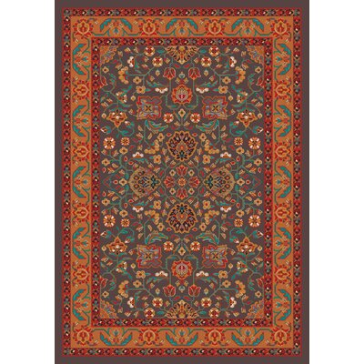 Pastiche Abadan Tin Roof Grey Rug Rug Size: Rectangle 54 x 78