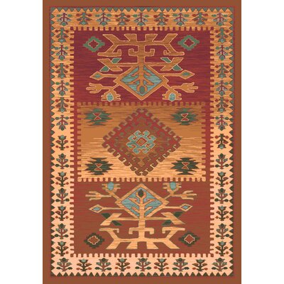 Pastiche Ahvas Toffee Rug Rug Size: Rectangle 109 x 132