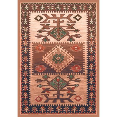 Pastiche Ahvas Brown Rug Rug Size: Rectangle 109 x 132