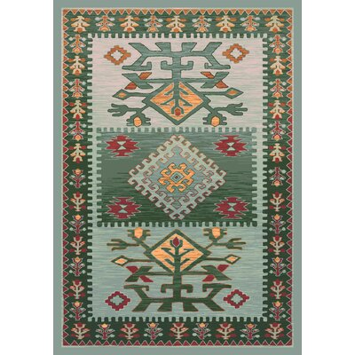 Pastiche Ahvas Ireland Rug Rug Size: Rectangle 78 x 109