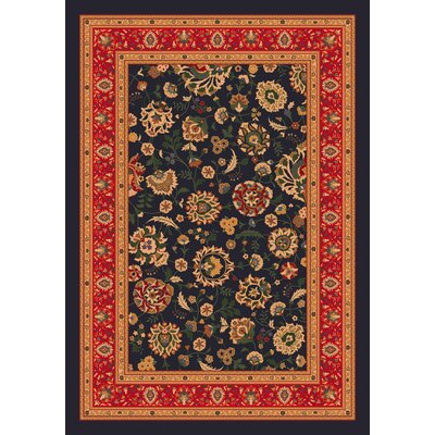 Pastiche Aydin Ebony Rug Rug Size: Rectangle 109 x 132