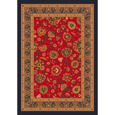 Pastiche Aydin Currant Red Rug Rug Size: Rectangle 78 x 109