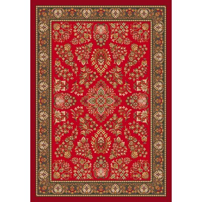 Pastiche Halkara Red Cinnamon Rug Rug Size: Rectangle 310 x 54