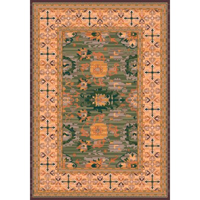 Pastiche Karshi Autumn Forest Rug Rug Size: Rectangle 54 x 78