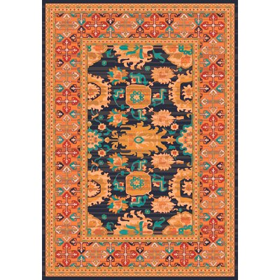 Pastiche Karshi Smog Rug Rug Size: Rectangle 109 x 132