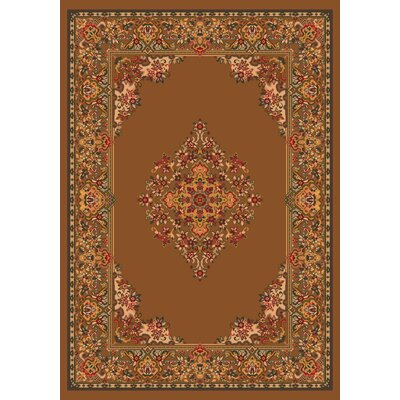 Pastiche Merkez Umber Area Rug Rug Size: Rectangle 78 x 109