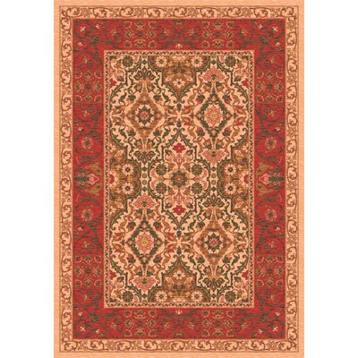 Pastiche Sandakan Flaxen Brown Area Rug Rug Size: Rectangle 54 x 78