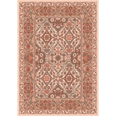 Pastiche Sandakan Alabaster Brown Area Rug Rug Size: Rectangle 54 x 78