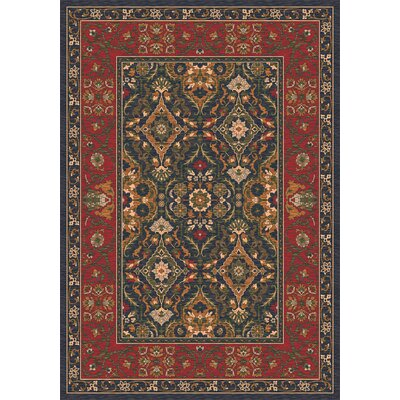Pastiche Sandakan Ebony Area Rug Rug Size: Rectangle 109 x 132