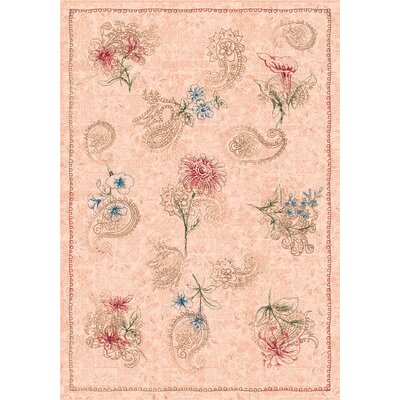 Pastiche Vintage Almond Area Rug Rug Size: Rectangle 78 x 109