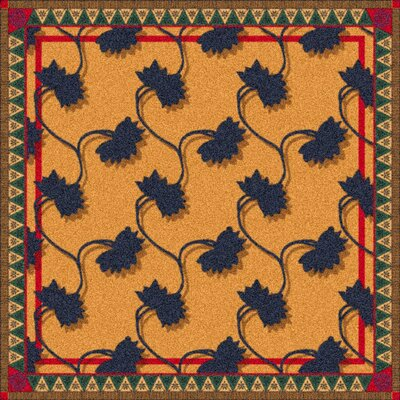 Pastiche Bantam Manila Rug Rug Size: Rectangle 54 x 78