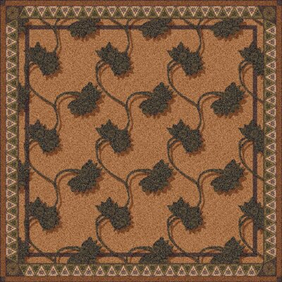 Pastiche Bantam Walnut Rug Rug Size: Rectangle 310 x 54