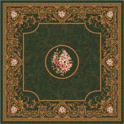 Pastiche Montfluer Olivine Area Rug Rug Size: Rectangle 54 x 78