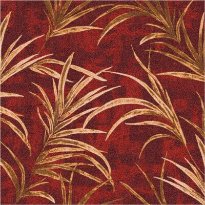 Pastiche Rain Forest Russet Area Rug Rug Size: Rectangle 54 x 78
