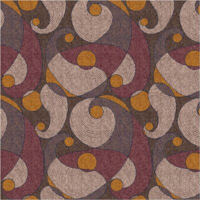 Pastiche Remous Brown Area Rug Rug Size: Rectangle 78 x 109