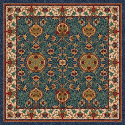 Pastiche Sumero Midnight Area Rug Rug Size: Rectangle 109 x 132