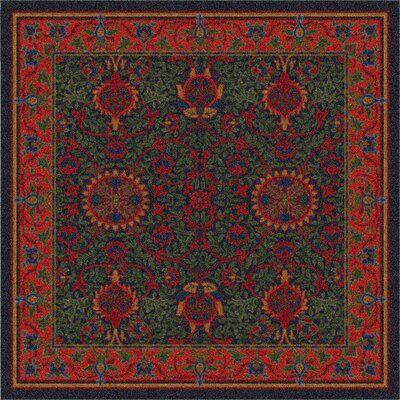 Pastiche Sumero Russet Ebony Area Rug Rug Size: Rectangle 78 x 109