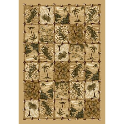Signature Cayman Isle Pale Topaz Area Rug Rug Size: Rectangle 109 x 132