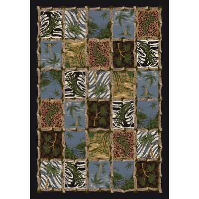 Signature Cayman Isle Onyx Area Rug Rug Size: Rectangle 78 x 109