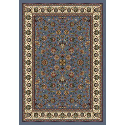 Signature Persian Palace Lapis Area Rug Rug Size: Oval 5'4