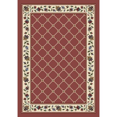 Signature Symphony Rose Quartz Area Rug Rug Size: Rectangle 109 x 132
