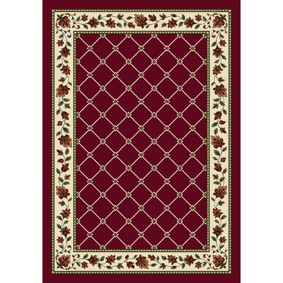Signature Symphony Brick Area Rug Rug Size: Rectangle 78 x 109