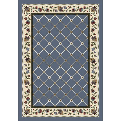 Signature Symphony Lapis Area Rug Rug Size: Rectangle 109 x 132