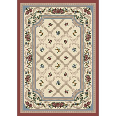 Signature Vanderbilt Rose Quartz Area Rug Rug Size: Rectangle 78 x 109
