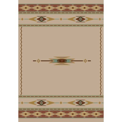 Signature Eagle Canyon Pearl Mist Area Rug Rug Size: Oval 54 x 78