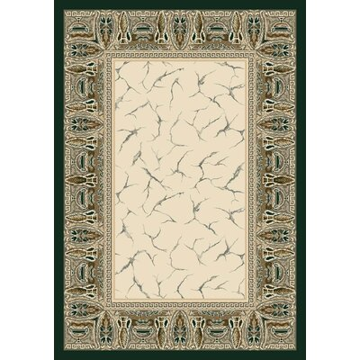 Innovation Emerald Isis Area Rug Rug Size: Oval 54 x 78