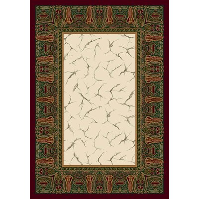 Innovation Garnet Isis Area Rug Rug Size: 54 x 78