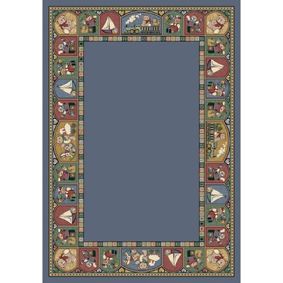 Signature Toy Parade Lapis Area Rug Rug Size: 109 x 132