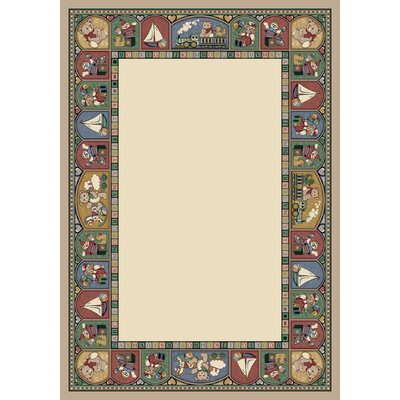 Signature Toy Parade Pearl Mist Area Rug Rug Size: Rectangle 78 x 109