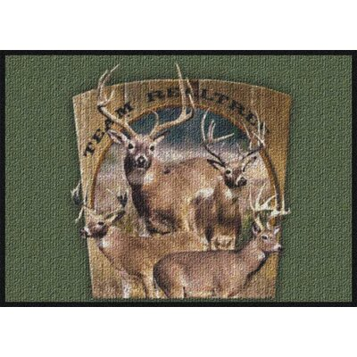 Realtree Team Realtree Bucks VIII Area Rug Rug Size: 28 x 310