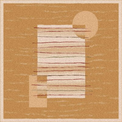 Pastiche Horizon Sand Rug Rug Size: Square 77