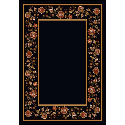 Design Center Onyx Khorrasan Area Rug Rug Size: Rectangle 109 x 132