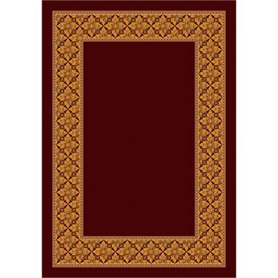 Design Center Garnet Copernicus Area Rug Rug Size: 54 x 78