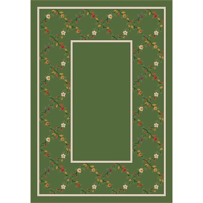 Design Center Peridot Maiden Area Rug Rug Size: Rectangle 109 x 132