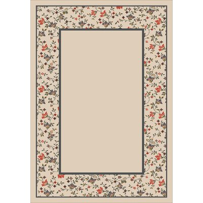 Design Center Opal Garden Glory Area Rug Rug Size: Rectangle 109 x 132
