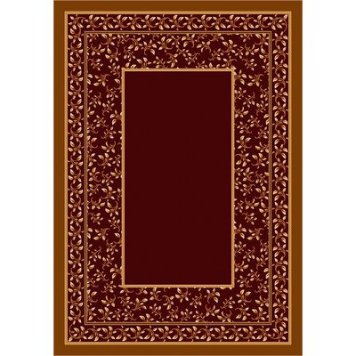 Design Center Garnett Leander Area Rug Rug Size: Rectangle 109 x 132