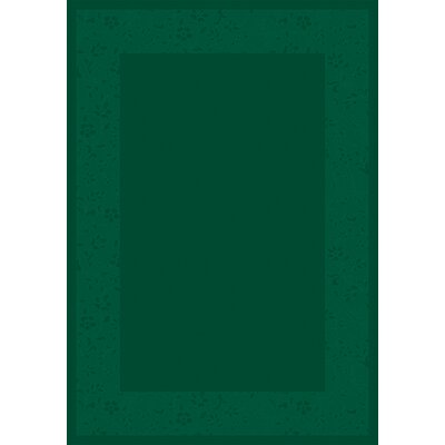 Design Center Emerald Brocade Area Rug Rug Size: Runner 24 x 232