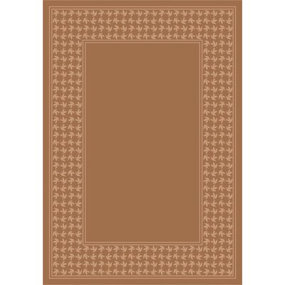 Design Center Sandstone Windswept Area Rug Rug Size: 5'4